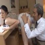 【熟女】大学の恩師との個人授業で絶頂アクメ