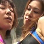 【熟女】「ハッ!全っ然感じてねぇし!」熟女二人がリング上で女のプライドをぶつけ合うキャットファイト! 神谷ミサト桃原歩