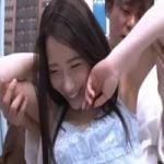 【人妻ナンパ】マジックミラー号ナンパ 性欲燻る団地妻は興奮と緊張で脇汗愛液びっちょんこ!