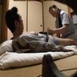 【熟女】意外とヤレる!地方温泉旅館の出張マッサージのおばさん