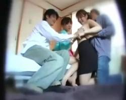 【個人撮影】お隣さん夫婦と開いたスワッピングホームパーティーの一部始終を彼らには内緒で隠し撮り!【NTR】