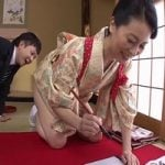【近親相姦】謹賀新年近親相姦!四十路母の姫はじめ 井上綾子