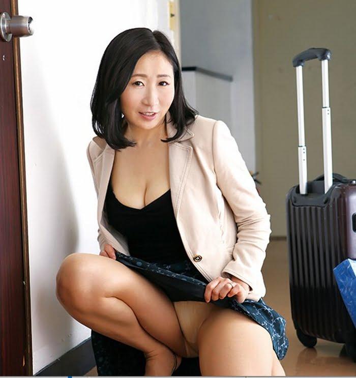 茨城から上京した嫁の母が…茨城美人 緒方泰子48歳 その9
