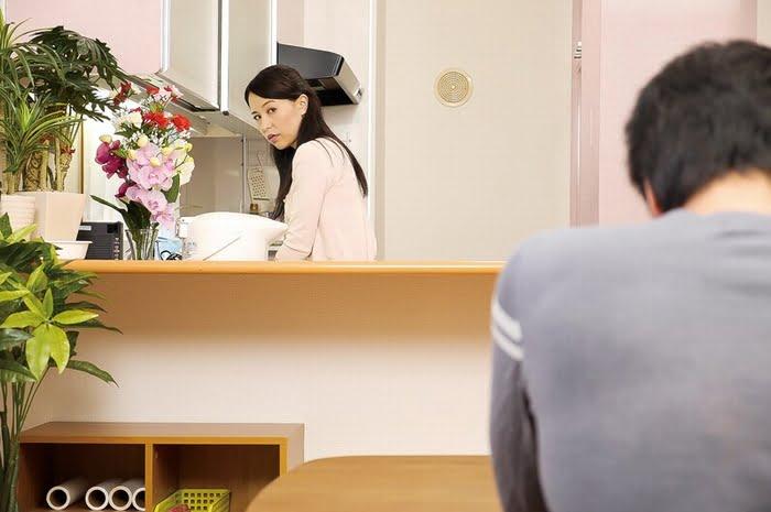 未亡人の義母と戯れて… 井上綾子 その1