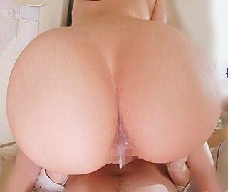 巨尻人妻とアナルSEX