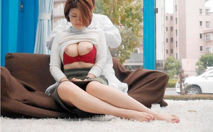 ナンパGETした人妻を執拗な乳首マッサージで強制発情させる! その14