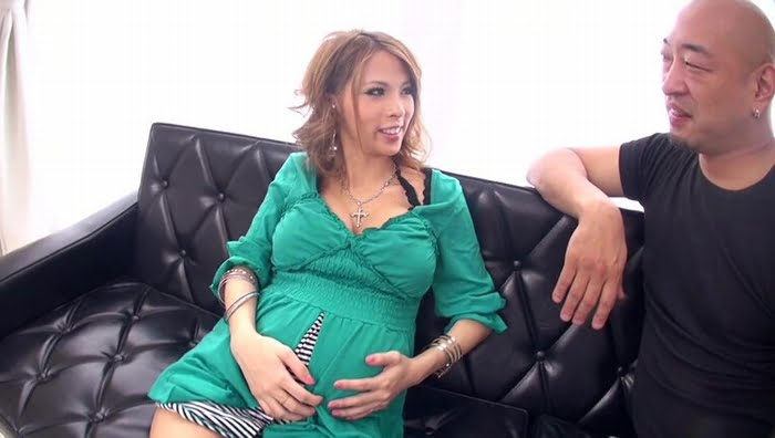 ギャル人妻が臨月妊婦になってAV復帰! その1