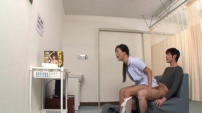 自分のミスで精液採取に失敗した熟女ナースが必死のオナサポ その20