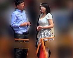巷で噂の性豪妻に突撃インタビュー
